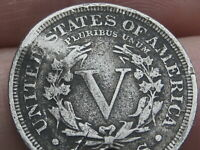 1905 LIBERTY HEAD V NICKEL- VF DETAILS