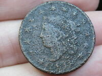 1818 MATRON HEAD LARGE CENT PENNY