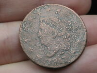 1817 MATRON HEAD LARGE CENT PENNY- 13 STARS VARIETY