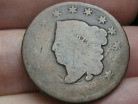 1826 MATRON HEAD LARGE CENT PENNY- NORMAL DATE, GOOD DETAILS