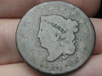 1816-1835 MATRON HEAD LARGE CENT PENNY- MATURE HEAD