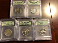 1999-S STATE SILVER QUARTERS SET - ICG PR70 DCAM - COMPARE PRICE TO OTHERS-BEAUT
