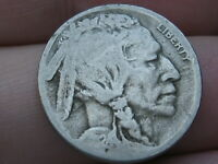 1924 S BUFFALO NICKEL 5 CENT PIECE- VG DETAILS