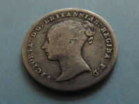 SILVER GROAT   1838 FOUR PENCE   QUEEN VICTORIA YOUNG HEAD 4