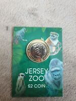 JERSEY ZOO 2 2 POUND COIN BAILWICK OF JERSEY 2019