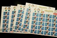 U.S. STAMP SHEETS  FACE $ 34.00  5 SHEETS