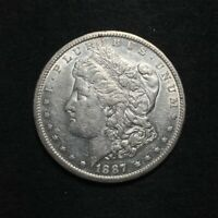1887-S MORGAN DOLLAR $1