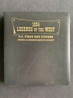 TCSTAMPS 31X 1994 LEGENDS OF THE WEST COVERS IN PCS ALBUM FD