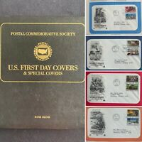 TCSTAMPS 25X 1991 95 COMMEMORATING WWII COVERS PCS ALBUM FDC