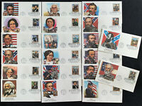 TCSTAMPS 20X CIVIL WAR CLASSIC COLLECTION 1995 FLEETWOOD COV