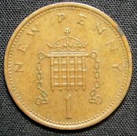 1974 GREAT BRITAIN 1 PENNY COIN