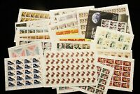 US DISCOUNT POSTAGE $ 216.40 FACE  31 MNH COMPLETE SHEETS OF