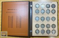 1892 1915 BARBER LIBERTY HEAD HALF DOLLAR COMPLETE/SET COLLECTION 73 COIN DANSCO
