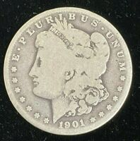 1901 S SAN FRANCISCO MORGAN .900 SILVER DOLLAR UNITED STATES BETTER DATE COIN