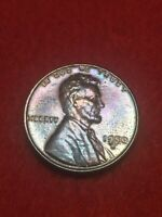 1950S SAN FRANCISCO MINT BEAUTIFULLY TONE LINCOLN WHEAT CENT 45