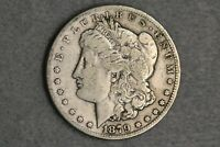 1879-CC $1 MORGAN SILVER DOLLAR CAPPED CC VF  FINE EARLY US TYPE COIN