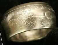 MORGAN SILVER DOLLAR 1899 SIZE 11 90 SILVER RING ANTIQUE  UNITED STATES