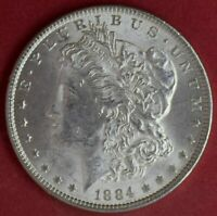 1884 MORGAN DOLLAR UNC
