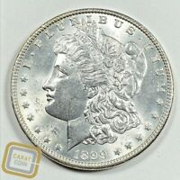 1899-P SILVER MORGAN DOLLAR UNCIRCULATED UNC BU PHILADELPHIA MINT COIN $1 LUSTER