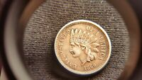 1860  INDIAN HEAD CENT   POINTED BUST    KEY DATE