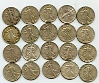 ROLL OF 1945 P WALKERS SILVER COINS