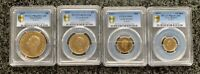 KING GEORGE VI GOLD SOVEREIGN CORONATION FOUR PIECE PROOF SE