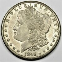 1892-CC CARSON CITY SILVER MORGAN DOLLAR $1 US COIN ITEM 24487