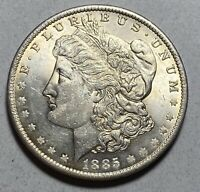 1885-O MORGAN SILVER $1 DOLLAR