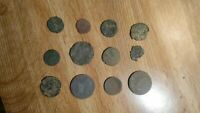 12  1600S   1700S PIRATE / COLONIAL ERA COINS.