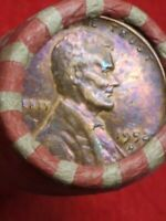 ROLL OF WHEAT PENNIES  1952 D LINCOLN WHEAT CENT  1926 D LINCOLN WHEAT CENT