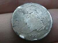 1828 SILVER CAPPED BUST DIME- SMALL DATE