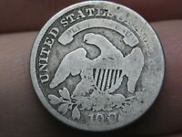 1831 SILVER CAPPED BUST DIME- OLD TYPE COIN
