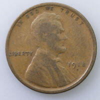 1918-D LINCOLN WHEAT CENT, US LINCOLN CENT 1012 D