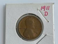 1911 D LINCOLN CENT G