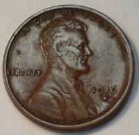 VINTAGE WHEAT CENT1916 S LINCOLN ONE CENT BETTER DATE EXTRA FINE  840