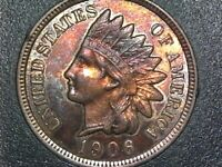1906 INDIAN HEAD CENT-SUPER BU RED CONDITON- GREAT COLOR & EYE APPEAL