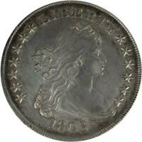 1803 DRAPED BUST SILVER DOLLAR COIN   LARGE 3   ABOUT UNCIRC