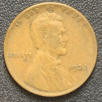 1932 BRN G/VG LINCOLN WHEAT CENT | SEMI-KEY DATE | EXACT COIN  FREE SHIP 4857