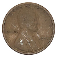 1921 LINCOLN WHEAT CENT, VG EXACT COIN  , FAST SHIPS FREE 4887