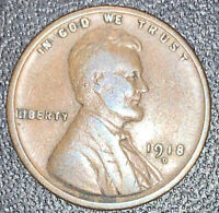 FINE EXACT  COIN 1918-D LINCOLN WHEAT CENT PENNY  FAST SHIPS FREE4905