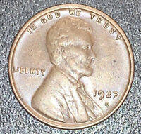 EXTRA FINE  DETAILS 1927-D LINCOLN WHEAT CENT PENNY | EXACT COIN  SHIPS FREE | 4919