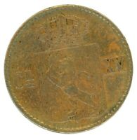 NORWAY 1867 1/2 SKILLING KM 329 COIN