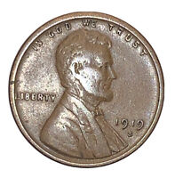 1919 S LINCOLN WHEAT CENT   VF   EXACT COIN  PICTURED | SHIPS FREE 4964