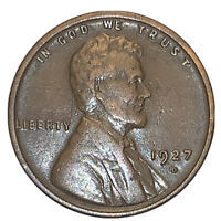 1927-D LINCOLN WHEAT CENT VF BETTER  DATE | EXACT COIN  SHIPS FREE  4992