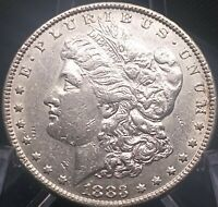 BEAUTIFUL GENUINE 1883 MORGAN SILVER DOLLAR   COIN