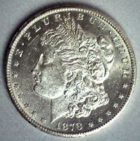 1878 CC MORGAN SILVER DOLLAR COIN $1 US TYPE COIN PL PROOF LIKE ONE DOLLAR