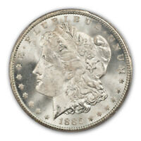 1885-CC $1 MORGAN DOLLAR PCGS MINT STATE 66 CAC