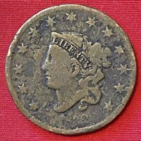 1832 US LIBERTY HEAD LARGE CENT PENNY COIN EARLY AMERICAN COPPER ANTIQUE COIN