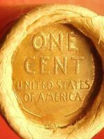 OLD ROLL LINCOLN WHEAT CENT PENNY 1909 VDB'S BOTH ENDS SAN F