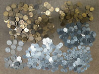 HUGE LOT OF 584 COINS FROM AUSTRIA PRE EURO  IN USA